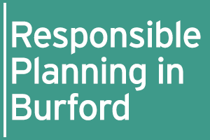 Responsible Planning in Burford